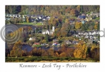 Kenmore, Autumn Postcard (HA6)