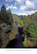 Pass of Killiecrankie Postcard (VA6)