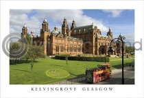 Kelvingrove Art Gallery Postcard (H A6 LY)