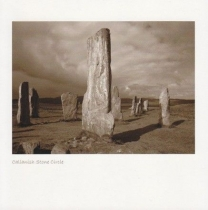 Callanish Standing Stones Sepia Greetings Card (LY)