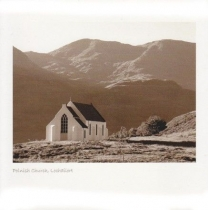 Polnish Church, Lochailort (Sepia)