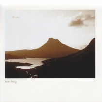 Stac Polly, Coigach Sepia Greetings Card (LY)