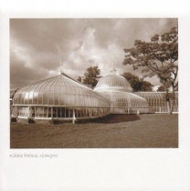 Kibble Palace Sepia Greetings Card (LY)