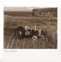 Tractor, North Coast Sepia Greetings Card