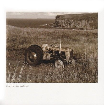 Tractor, North Coast (Sepia)