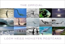 Official Loch Ness Monster Postcard (HA6)