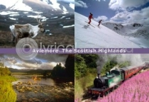 Aviemore & Scottish Highlands Postcard (H A6 LY)