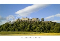 Stirling Castle Postcard (HA6)