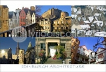 Edinburgh Architecture Postcard (HA6)