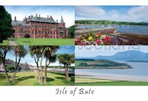 Isle of Bute Composite Postcard (HA6)