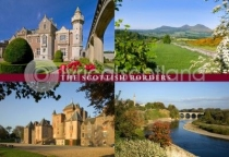 Scottish Borders Composite Postcard (H A6 LY)