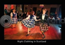 Night Clubbing Postcard (H A6 LY)