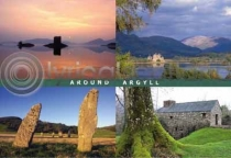 Around Argyll Postcard (HA6)