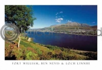 Fort William, Ben Nevis Postcard (HA6)