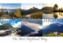 West Highland Way Postcard (HA6)