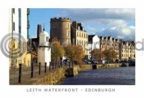Shore, Leith Waterfront, Edinburgh Postcard (HA6)