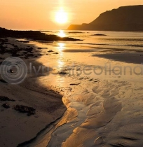 Calgary Bay Colour Photo Greetings Card