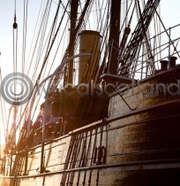 RRS Discovery Colour Photo Greetings Card (LY)