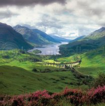 Glenfinnan Colour Photo Greetings Card