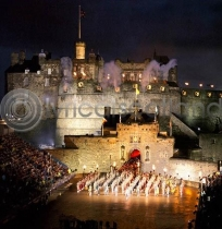 Edinburgh Festival Tattoo Colour Photo Greetings Card