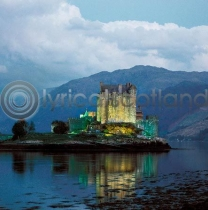 Eilean Donan Colour Photo Greetings Card