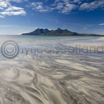Rum from Eigg Colour Photo Greetings Card (LY)