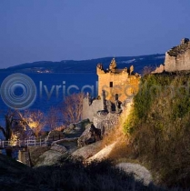 Urquhart Castle, Loch Ness Colour Photo Greetings Card