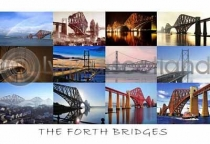 Forth Bridges Postcard (HA6)