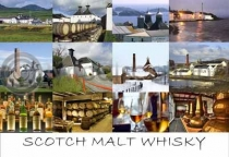 Scotch Whisky Postcard (H A6 LY)