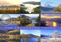 Trossachs Lochs Postcard (HA6)