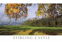 Stirling Castle in Autumn Postcard (H A6 LY)
