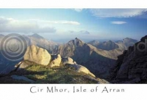 Cir Mhor, Arran Postcard (H A6 LY)