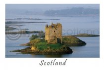 Castle Stalker - Scotland Postcard (H A6 LY)