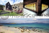 Isle of Iona Composite Postcard (H A6 LY)