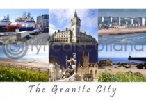 Granite City Composite Postcard (HA6)