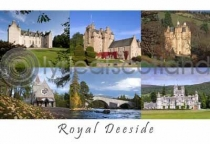Royal Deeside Composite 2 Postcard (HA6)