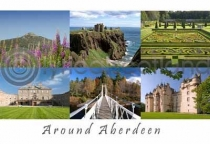 Around Aberdeen Postcard (H A6 LY)
