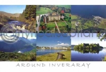 Around Inveraray Postcard (HA6)