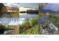 Inveraray - Argyll Postcard (HA6)