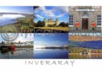 Inveraray Composite Postcard (HA6)