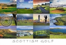 Scottish Golf Postcard (HA6)