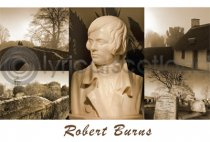 Robert Burns Composite Postcard (H A6 LY)