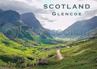 Scotland - Pass of Glencoe Magnet (H)