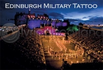 Edinburgh Military Tattoo Magnet (H LY)