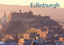Edinburgh Warm Glow Magnet (H)