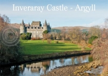 Inveraray Castle - Argyll Magnet (H LY)