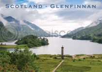 Scotland - Glenfinnan Monument Magnet (V LY)