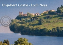 Urquhart Castle - Loch Ness Magnet (H LY)