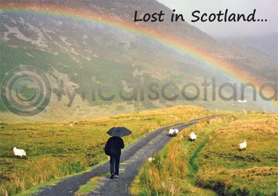 Lost in Scotland Magnet (H)