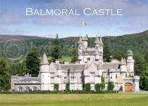 Balmoral Castle Magnet (H LY)